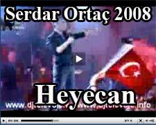 Serdar Alb�m en son albumu Heyecan Sark�s� Dinle �zle