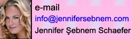 Jennifer Şebnem Schaefer resmi e-mail adresi