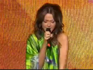 Hadise D�m tek tek Eurovision erovizyon 2009 T�rkiye T�rkiyenin �ark�s� crazy about you Turkey's Hadise's Hadisenin
