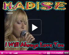 Hadise Beyaz   Whitney Housten I'll Always Love You