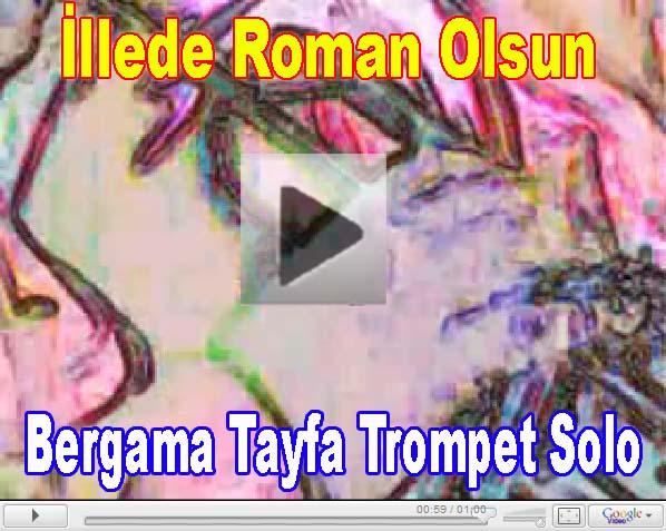 Bergama Tayfa Saksafon Solo