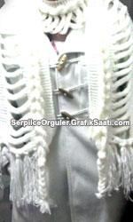 Serpilce.ile Serpilce �rg�ler ku�ulu �rg�den kafesli atk� ve bandana